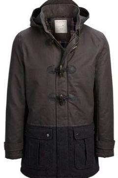 Manteau Selected Manteau duffle coat H Noir(115408726)