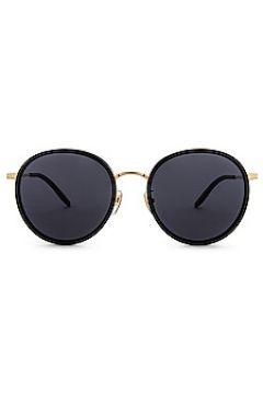 Солнцезащитные очки vintage round - Gucci(125443355)