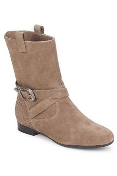 Boots Couleur Pourpre TAMA(101537336)