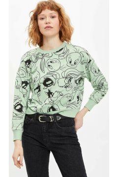 DeFacto Kadın Looney Tunes Lisanslı Sweatshirt(108988269)