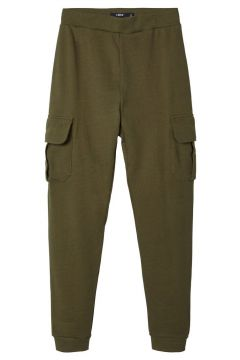 NAME IT Regular Fit Cargo Sweathose Herren Grün(116666233)