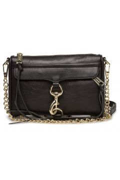 Mini Mac Bags Small Shoulder Bags - Crossbody Bags Schwarz REBECCA MINKOFF(116997477)