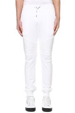 Balmain Erkek Beyaz Beli Kordonlu Jogger Eşofman Altı S EU(127545696)