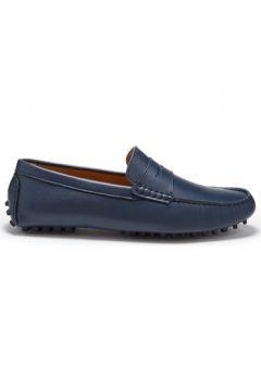 Chaussures Hugs Co. Mocassins Penny cuir fleur(115401828)
