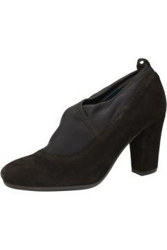 Chaussures escarpins Keys escarpins noir daim textile AE602(115399520)