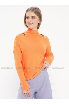 Orange - Jumper - Kaktüs(110328142)