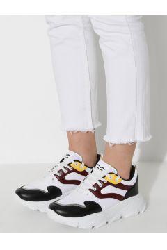 Chaussures De Sport Sidasa Blanc / Bordeaux / Noir(119072388)