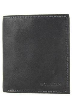 Sac Wylson Porte monnaie en cuir mat 1 volet Rio Noir(115545353)