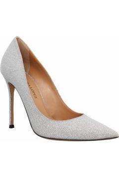 Chaussures escarpins Pura Lopez 107 glitter Femme Argent(127953415)