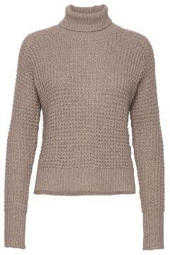 Jaida Turtleneck Rollkragenpullover Poloshirt Beige TWIST & TANGO(120942327)