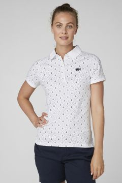 Helly Hansen W Siren Polo Beyaz Polo T-Shirt(120140047)