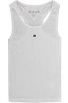 Tommy Hilfiger Solid Rib Vest - Bright White(100541318)