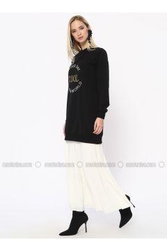 Ecru - Fully Lined - Skirt - Missemramiss(110330908)