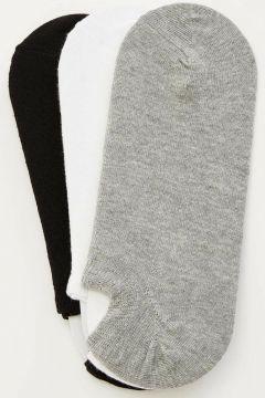 DeFacto Erkek 3\'lü Kısa Çorap Seti(108640279)