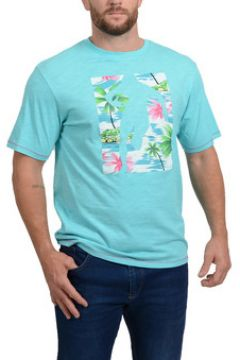 T-shirt Ruckfield T-shirt Chabal Island Bleu Turquoise(115476089)