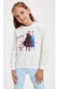 DeFacto Kız Çocuk Frozen Lisanslı Sweatshirt(125919306)