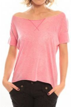 T-shirt So Charlotte Tight short sleeves Tee all snake T53-406-00 Rose(98751007)