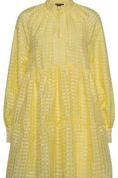 Jasmine, 864 Gingham Poly Kurzes Kleid Gelb STINE GOYA(117467256)