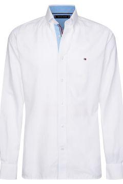 Camisa recta de twill de algodón Hyper Classic(109281211)
