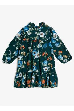 Koton Kız Çocuk Desenli Elbise(108901127)