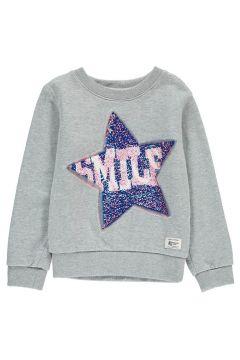 Sweatshirt Sterne mit Pailletten(113866572)