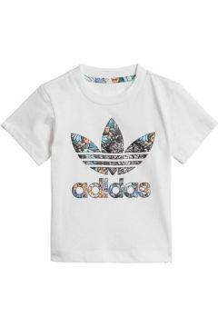 T-shirt enfant adidas ZOO TEE BIANCA(115478432)