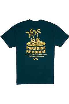 RVCA Paradise Records T-Shirt blauw(116880695)