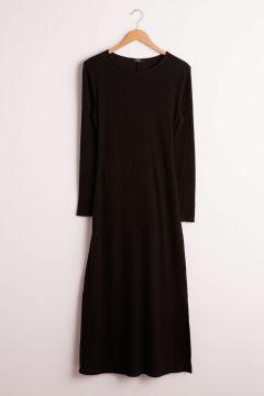 Kadın Beli Bağlama Detaylı Pamuklu Elbise(125084249)