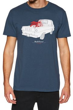 Deus Ex Machina The A100 Kurzarm-T-Shirt - Navy(110360345)