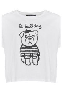 T-shirt French Connection T-shirt imprimé manches courtes(115485064)