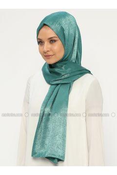 Green - Plain - Shawl - Silk Home(110314459)