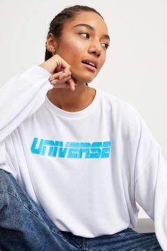 DeFacto Kadın Regular Fit Baskılı Sweatshirt(119063063)