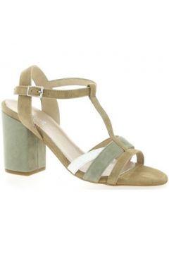 Sandales Reqin\'s Nu pieds cuir velours naturel(127873090)