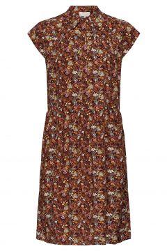 Cesena Sleeveless Dress Kleid Knielang Braun MINUS(114802582)