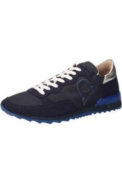 Baskets Invicta sneakers bleu textile daim AB66(88470029)