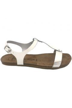 Sandales Amoa sandales SANARY Blanc/Argent(115522532)