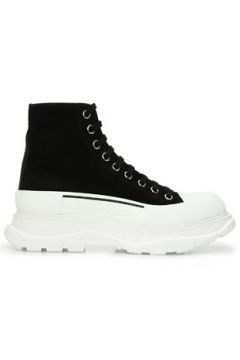 Alexander McQueen Kadın Siyah Deri Sneaker 35 EU(123320120)