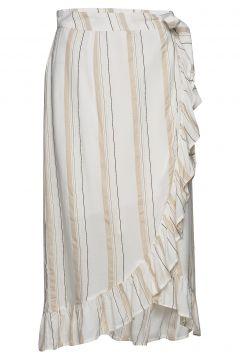 Skirt Knielanges Kleid Creme ILSE JACOBSEN(114164585)