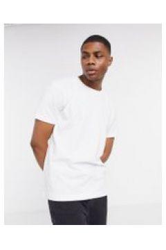 Weekday - T-shirt bianca comoda-Bianco(120507503)
