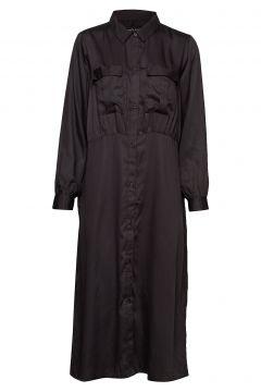 Radiant Shirtdress Maxikleid Partykleid Schwarz MOSHI MOSHI MIND(114163564)