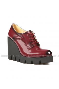 Maroon - High Heel - Casual - Shoes - ROVIGO(110316042)