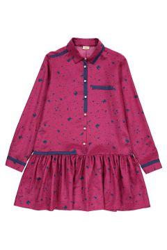 Kleid aus Seide Tintentropfen(112328502)
