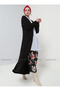 Black - Cotton - Acrylic - Cardigan - Benin(110327867)