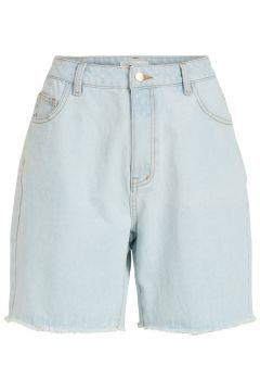 OBJECT COLLECTORS ITEM Taille Haute Shorts En Jean Women blue(116141626)