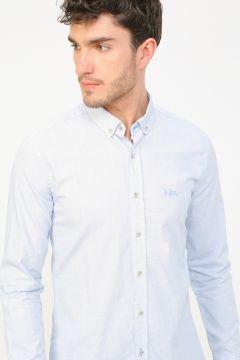 Lee Cooper Açık Mavi Gömlek(114003790)