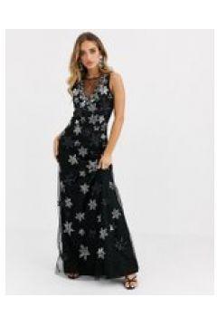 A Star Is Born - Vestito lungo con decorazione di stelle-Multicolore(120333672)