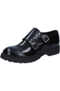 Chaussures Islo élégantes noir cuir BZ228(115393978)