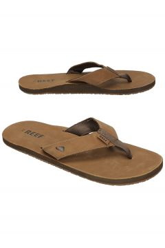 Reef Leather Smoothy Sandals bruin(85168206)