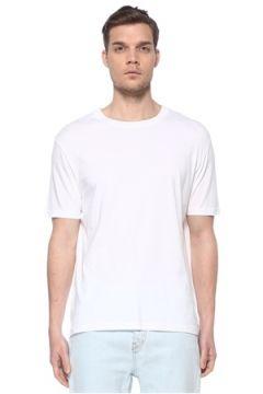 Zadig&Voltaire Erkek Beyaz Kuru Kafa Baskılı T-shirt M EU(116665600)