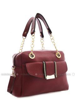 Maroon - Shoulder Bags - Elvin Bags(110333795)